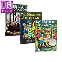 【中商原版】我爸爸的小飞龙系列3册 英文原版 My Father's Dragon 纽伯瑞奖 儿童桥梁章节小说
