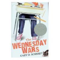 【现货】英文原版 The Wednesday Wars 星期三的战争 2008年纽伯瑞银奖