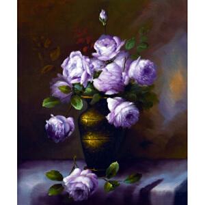 Y345  郑美明紫玫瑰