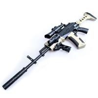 电动连发儿童玩具枪ak47可发射男孩玩具