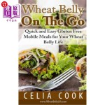 【中商海外直订】Wheat Belly on the Go: Quick