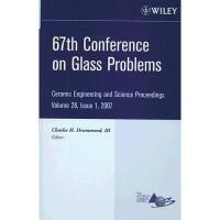 【预订】67Th Conference On Glass Problems: Ceramic