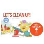 英文原版 Cantata Learning Let's Clean Up! 书+CD 歌谣学英文 STEM教育绘本