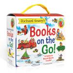 英文原版斯凯瑞 Richard Scarry's Books on the Go 交通工具世界盒装4册纸板书 Cars