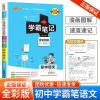 2020版 学霸笔记 初中语文 初一初二初三七八九年级7-8-9上册下册中考总复习参考资料知识大全测试题课本解析教材讲