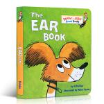 顺丰发货 进口英文原版绘本 The Ear Book Bright and Early Board Books 耳朵书