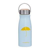 复古磨砂保温杯韩版情侣真空不锈钢便携保温瓶创意学生ins水杯子