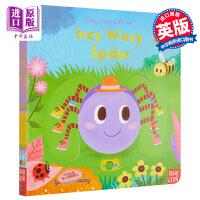 【中商原版】Sing Along with Me! Incy Wincy Spider 跟我唱系列 蜘蛛爬啊爬 低幼认知