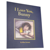 英文原版I Love You Bunny我爱你,小兔子 儿童启蒙绘本