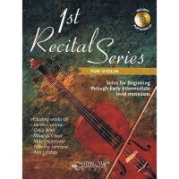 【预订】1st Recital Series for Violin: Solos for Beginning