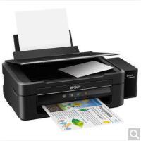 爱普生(EPSON)L380 墨仓式 打印机一体机 (打印 复印 扫描) 爱普生L380自带连供一体机 替代L360
