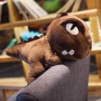 恐龙暖手抱枕插手公仔毛绒沙发可爱靠垫韩式暖手捂学生 女生
