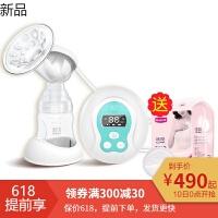 电动吸奶器静音全自动挤奶器孕妇产后吸力大吸乳器按摩拔奶器