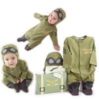 造型哈衣连体衣爬服宝宝婴儿衣服装