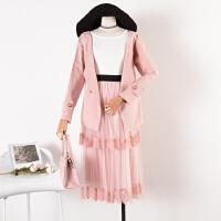 8 秋季韩版新品纯色开衫双排扣修身时尚短外套