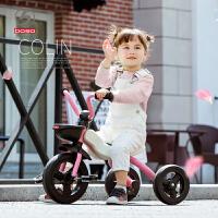 儿童三轮车脚踏车男女宝宝轻便折叠脚蹬车童车1-5周岁