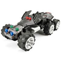 儿童玩具车回力汽车模型大号仿真太空探险车合金车模 1:32大脚