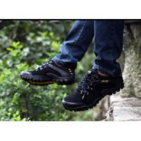 户外徒步鞋男士休闲鞋秋冬季登山鞋男鞋防水防滑低帮