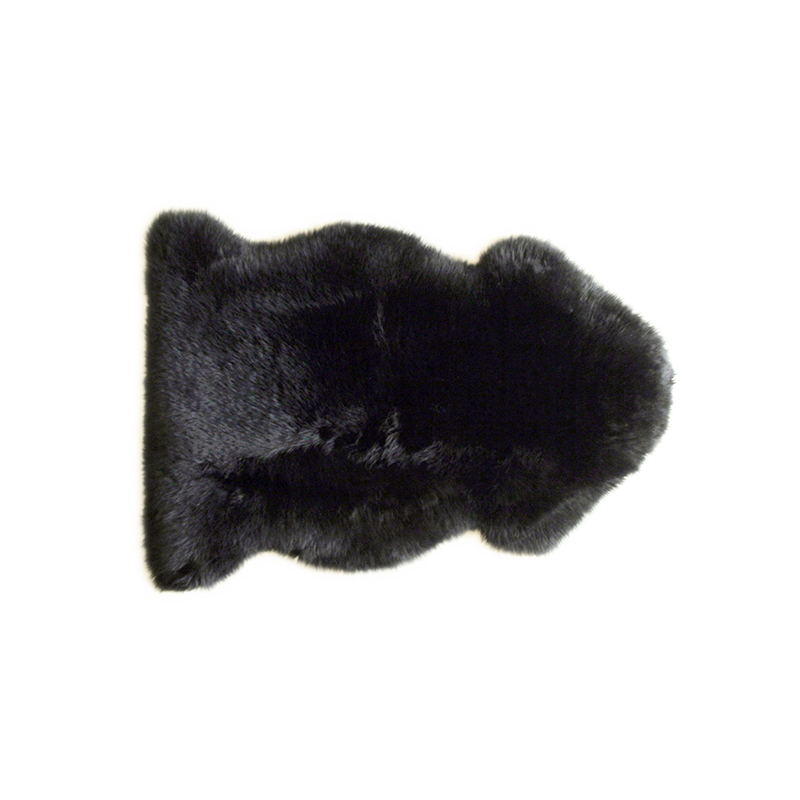 网易严选 皮毛一体多用单张长毛皮垫进口羊羔皮,居家多用