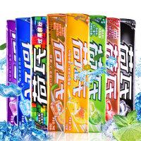 【年味狂欢 爆品直降】荷氏特强薄荷糖9粒装34g 维果-C水果糖 糖果零食