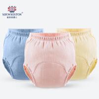 婴儿尿布兜棉如厕儿童夏季宝宝尿布裤训练内裤可洗