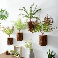 家居客厅墙面装饰挂件创意田园仿真植物墙壁挂饰