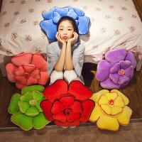 压床布娃娃毛绒玩具玫瑰花抱枕靠垫大红结婚礼物婚房喜庆