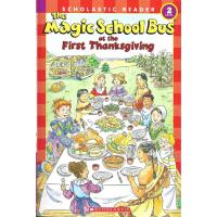 英文原版Magic School Bus Science Reader: At The First Thanksgiv