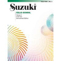 【预订】Suzuki Cello School, Vol 3: Cello Part