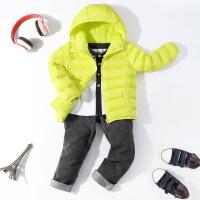 新款儿童羽绒服男童女童轻薄短款宝宝童装冬季外套反季中大童小孩