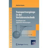 【预订】Transportvorg Nge in Der Verfahrenstechnik: