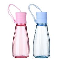 塑料水杯便携学生太空杯大容量随手杯男女士创意运动水壶杯子
