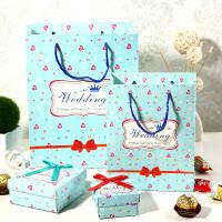 创意欧式喜糖盒子摆件 婚庆用品 结婚回礼喜糖果盒子喜糖袋子套装 酒店婚礼礼品