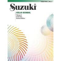 【预订】Suzuki Cello School, Vol 2: Cello Part
