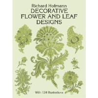 【预订】Decorative Flower and Leaf Designs