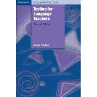 【预订】Testing for Language Teachers