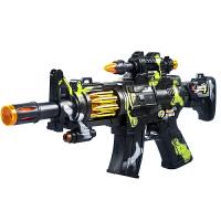 2-3-4-5-6岁 儿童电动玩具枪男孩子发声光音乐震动宝宝小孩冲锋抢
