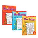 (300减100)【学乐 K-3年级】Scholastic Daily Word Ladders 3册合售 词汇练习册