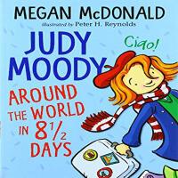 英文原版JudyMoody:AroundtheWorldin81/2Days