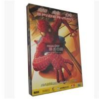 原装正版DVD:蜘蛛侠1/Spider-Man 1/蜘蛛人(纸盒双碟装)国语中文