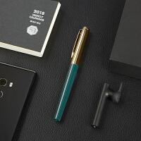 日本pilot百乐钢笔AMS-17G笔杆灌墨办公学生成人书写练字用22K金尖上墨式大容量包金钢笔