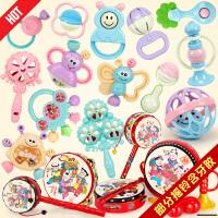 宝宝手摇铃牙胶玩具婴儿玩具0-1岁幼儿牙胶摇铃 3-6-12个月