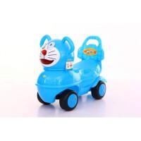 儿童大黄鸭滑行溜溜车1-2-3岁宝宝扭扭四轮助步玩具扭扭车带音乐