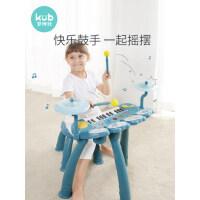 可优比儿童电子琴初学者1-3岁男女孩益智乐器宝宝礼物小钢琴玩具