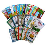I CAN READ 一和第二阶段汪培�E推荐英文原版书单 儿童绘本25本套装 送音频Happy Birthday,Dan