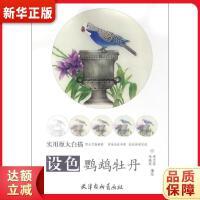 设色鹦鹉牡丹 李立环,李晓环 绘 天津杨柳青画社 9787554705346 新华正版 全国85%城市次日达