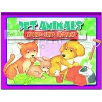 【现货】英文原版Pet Animals : Pop- Up Book 宠物立体书 趣味图书 幼儿认知