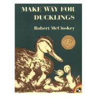 英文原版儿童书 Make Way for Ducklings  让路给小鸭子 (1942年 凯迪克金奖)