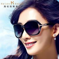 海伦凯勒新款太阳镜女 墨镜女士偏光镜蛤蟆镜 防紫外线H8312