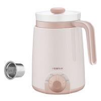家用休闲多功能电热水杯便携电炖杯办公室迷你陶瓷加热煮粥杯养生杯热牛奶小电杯